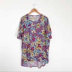 Lularoe Colorful Floral Tunic